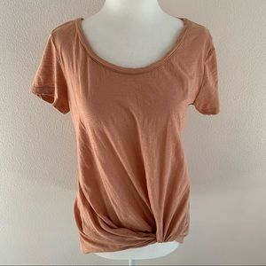 BP. (Nordstrom brass plum) light orangish shirt